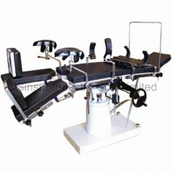 Hospital Mechanical Hydraulic Surgical Operating Room Table