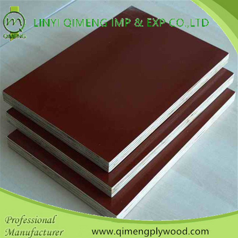 One Time Hot Press 13.5mm Brown Film Faced Plywood in Hot Sale