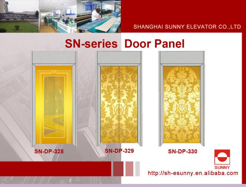 Stainless Steel Door Panel for Elevator (SN-DP-301)