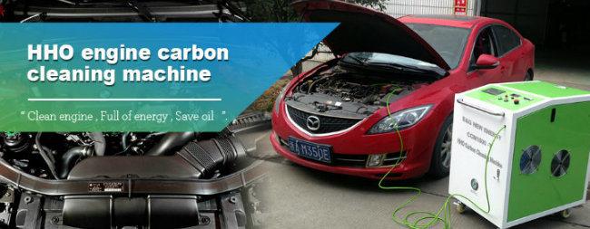 Ce Certification Hho Generator Car Engine Clean Machine