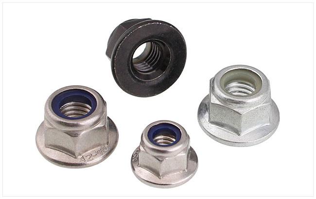 Stainless Steel Flange Nylon Lock Nut
