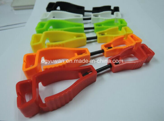 Plastic Safety Glove Clip for Building Worker / Construction Site