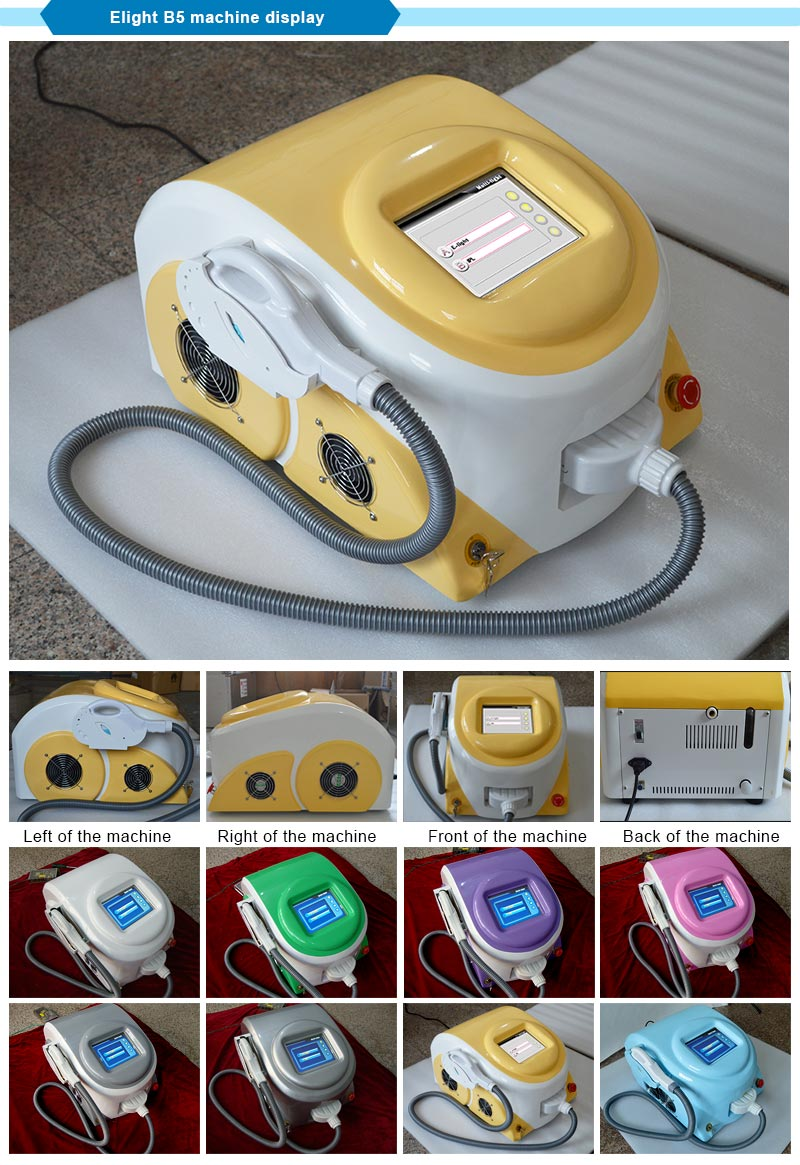 Beauty Equipment Elight IPL Acne Removal Laser Machine for Skin Treatment SPA/Salon/Home Use