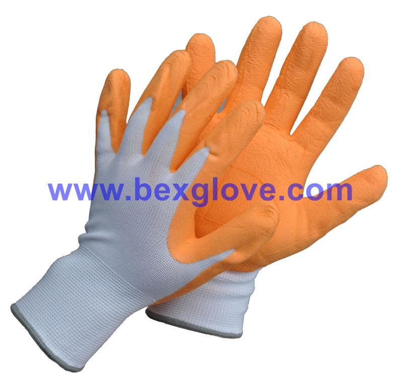 Working Garden Glove, Latex Coated