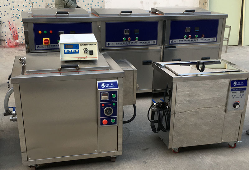 Heat Transmission Exchanger Industrial Ultrasonic Cleaning Machine