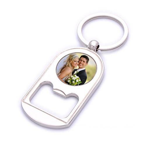 Stainless Steel Wire Rope Round Key Chain for Promotioin (F1334)