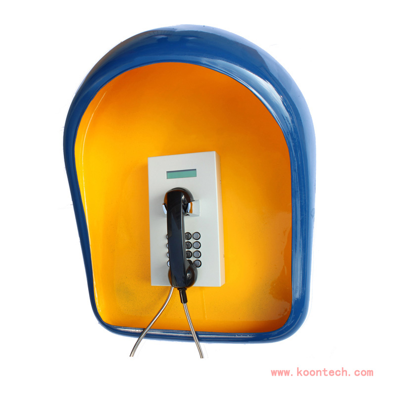 Weatherproof Telephone Booth for out Door