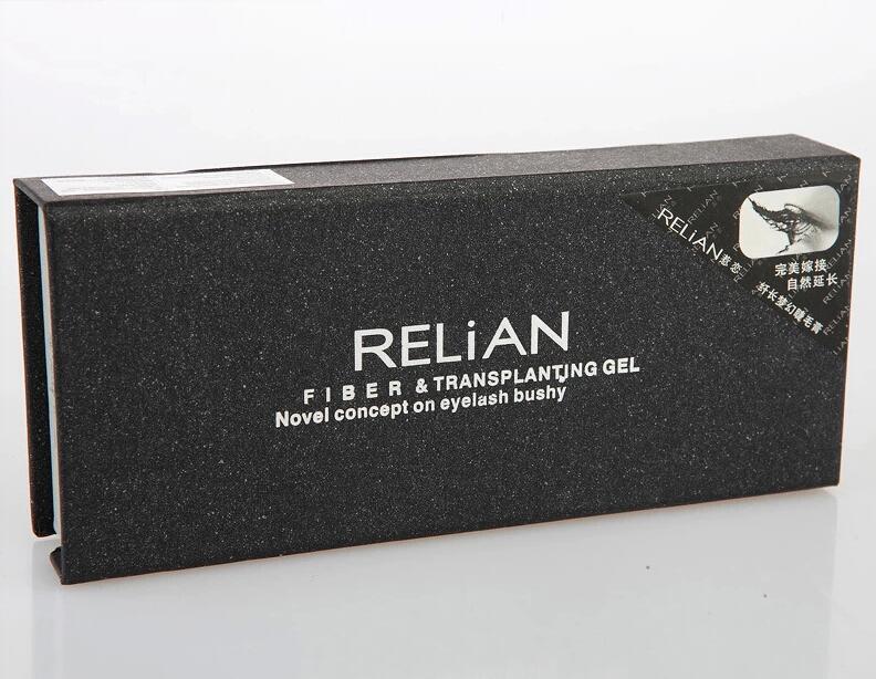 Hot Black Waterproof Relian Mascara 2 Tubes /Set
