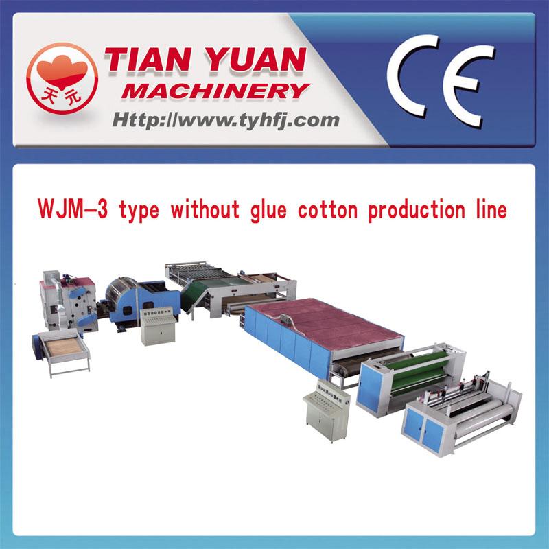 Non-Adhesive Thermo Bonding Wadding Production Line