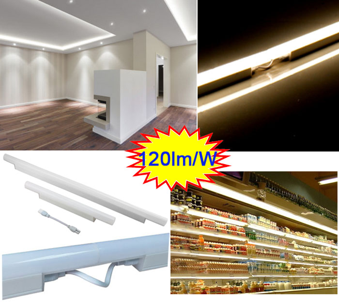 LED Linear Fixtures T5 SMD LED Under Cabinet Lights