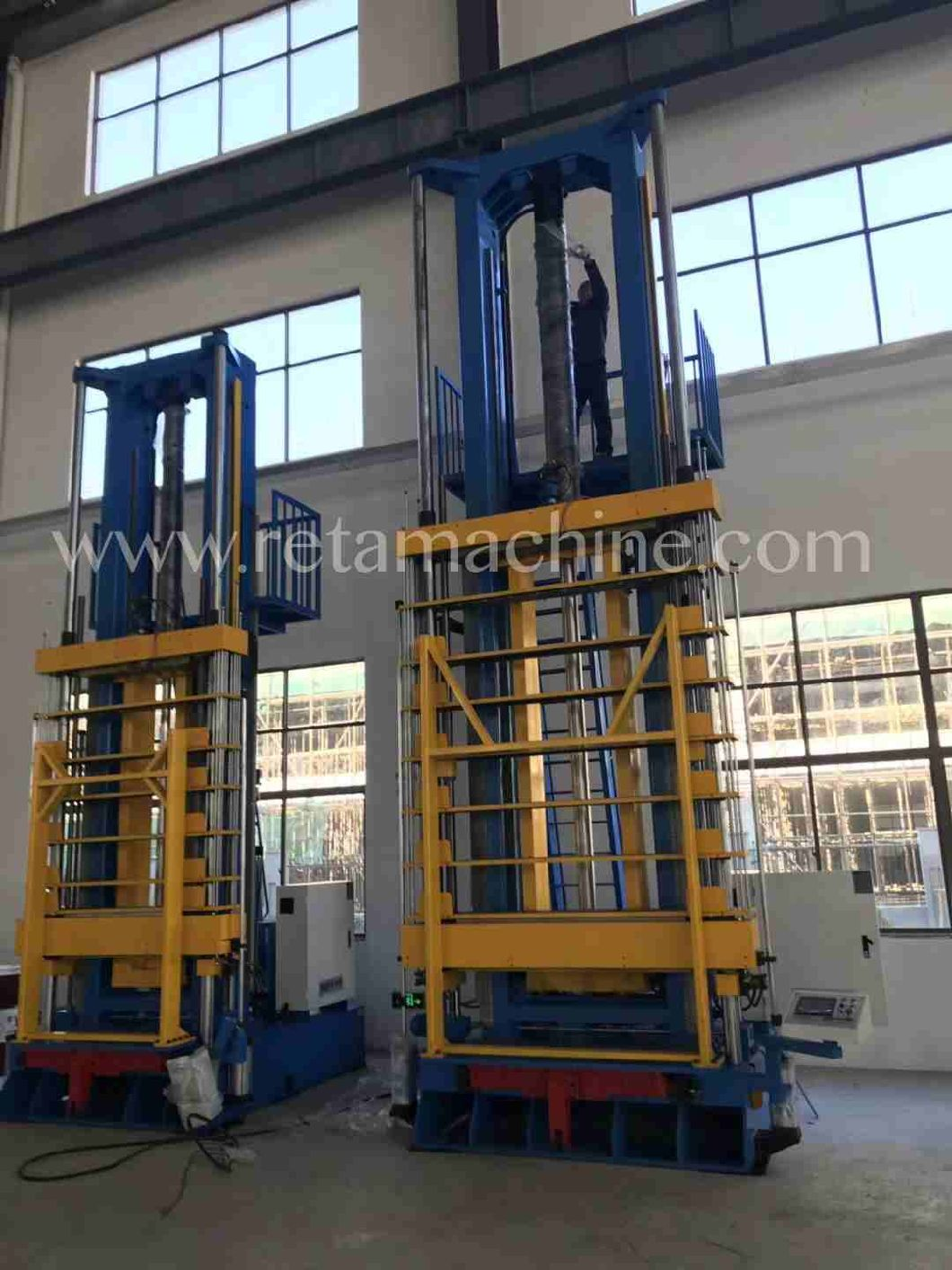 Hydraulic Vertical Expander for Heat Exchanger