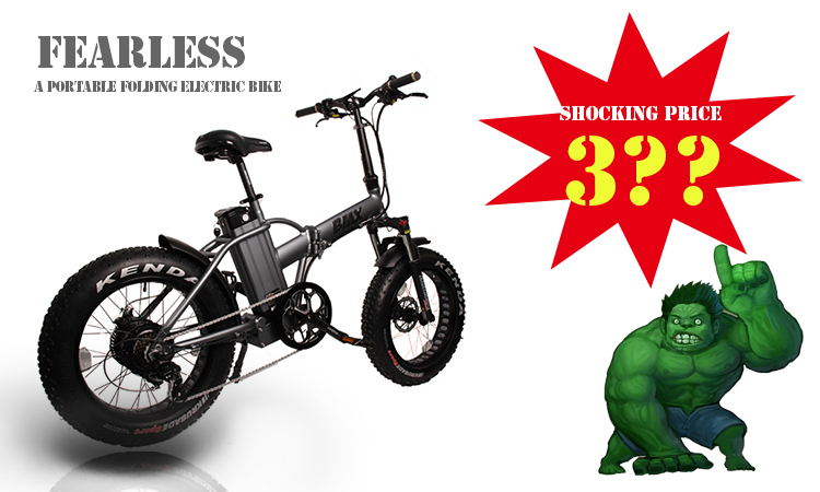 Fantas BMX 36V250W 20inches Fat Tyre Electric Bicycle