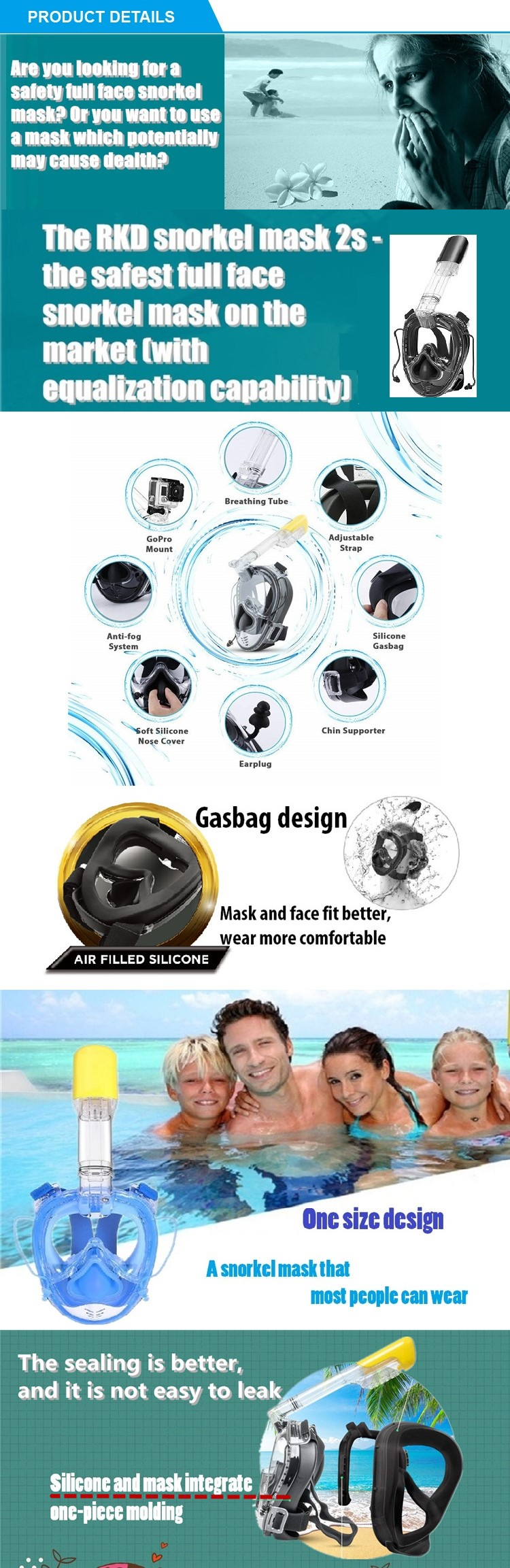 Leader Swim Goggles