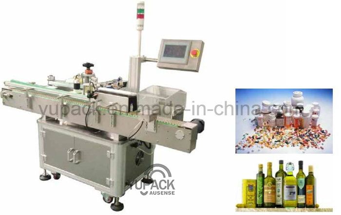 SUS304 Round Shape Bottle Label Adhesive Labeling Machine