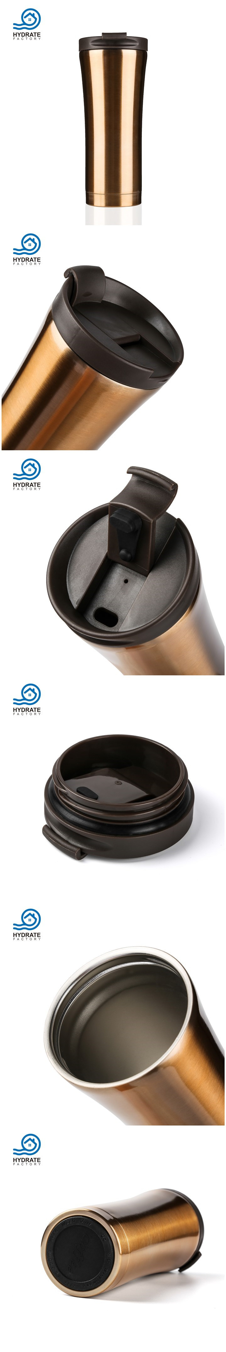 Office Commerce Stainless Steel 18/8 Vacuum Insulation Coffee Mug