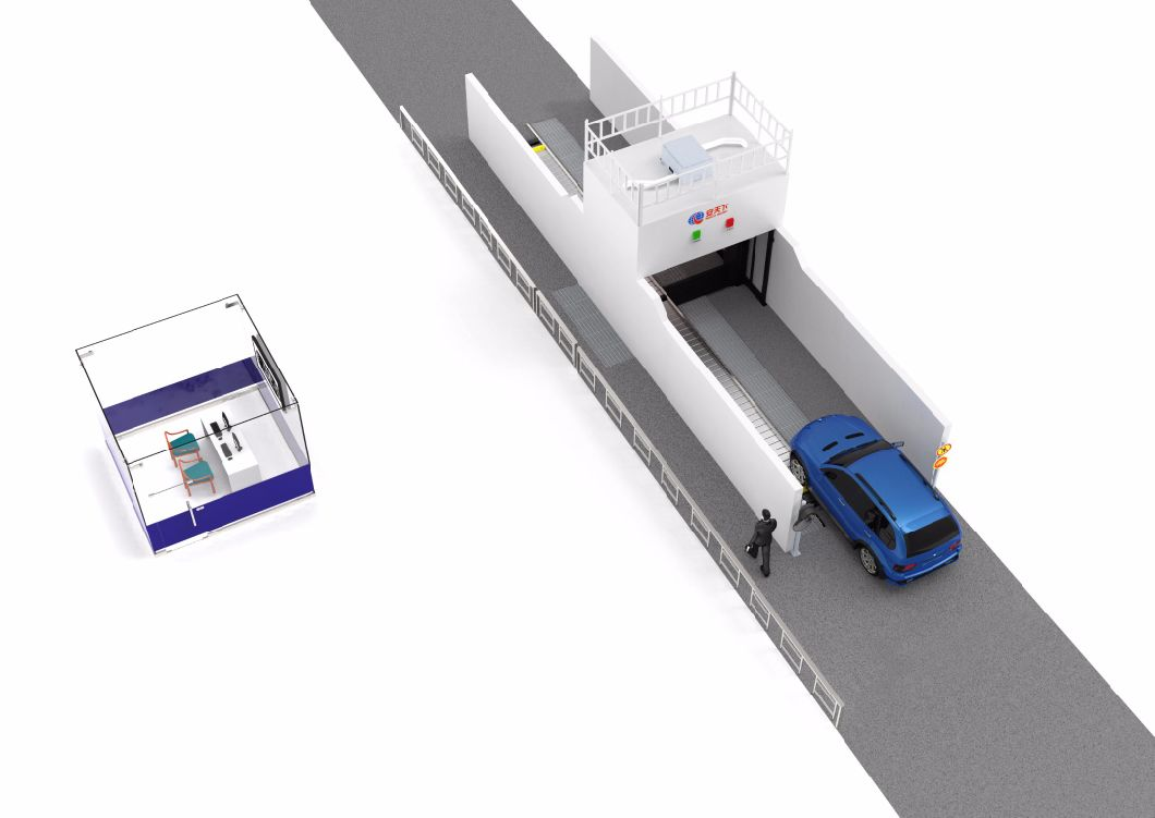 X-ray Scanner X Ray Security System for Scanning Cars and Vehicles