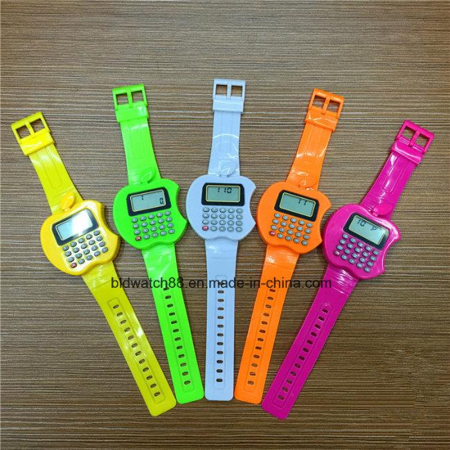 Kids Digital Watch Fancy Calculator Wristwatches for Children's Gift