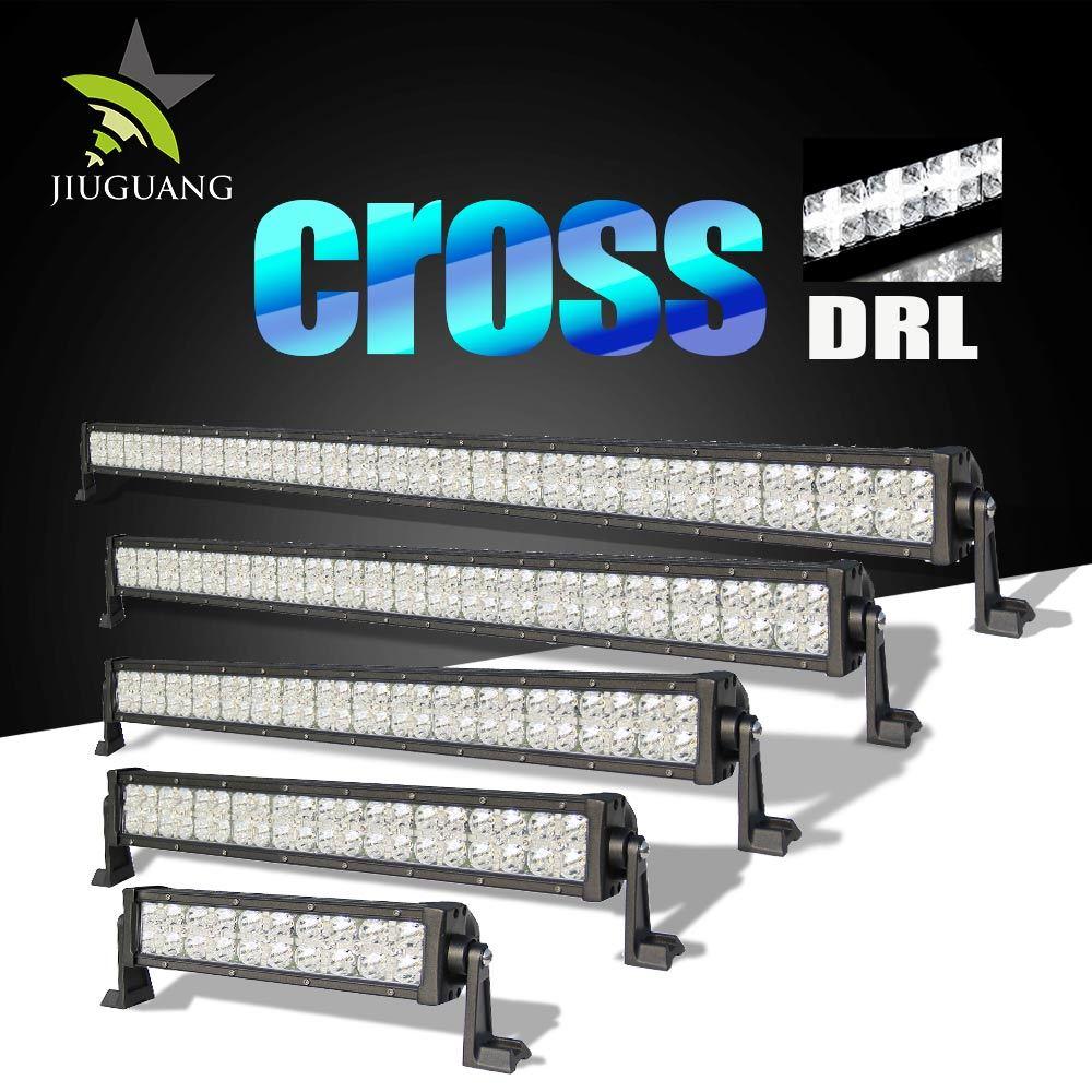 Dual Row 7D Reflector 50000 Lumen 240W 42 Inch LED Offroad Light Bar