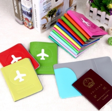 Assorted PVC Printed Passport Covers (PM058)