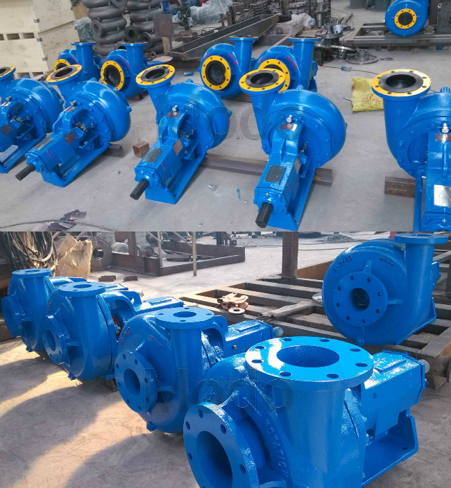 Centrifugal Horizontal Mission Interchageable Sand Pump