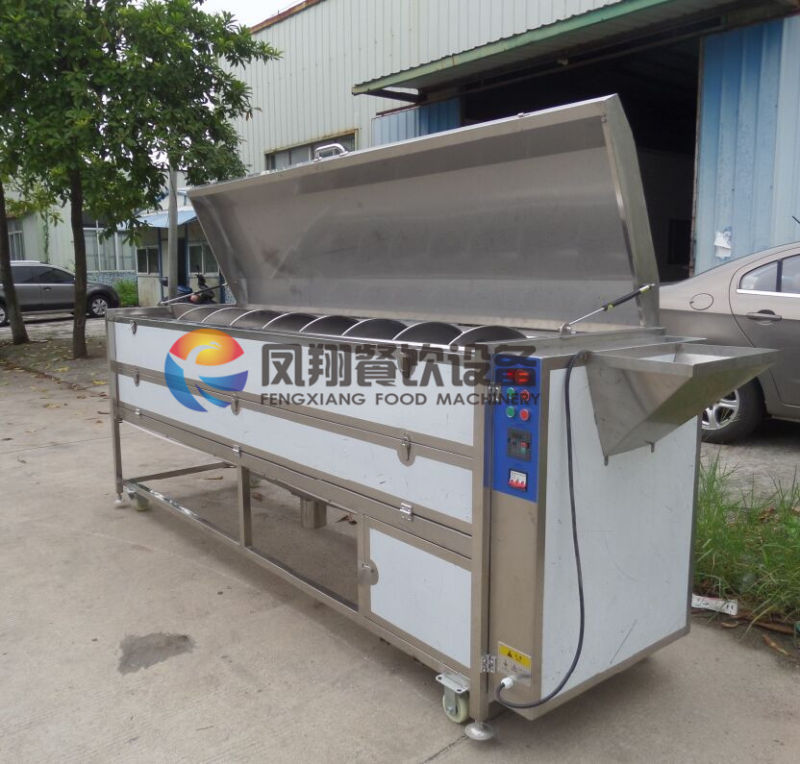 Industrial Big Size Yam/Jicama/Taro Washing & Peeling Machine