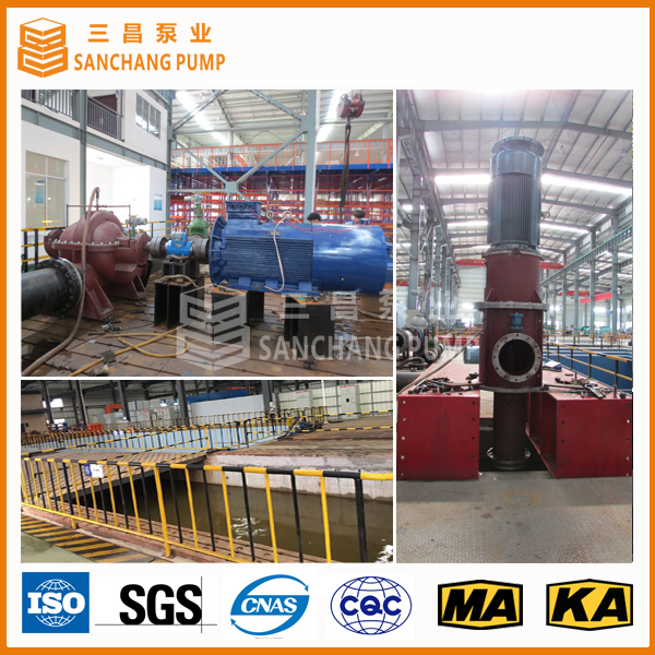 Single Stage Double Suction Axially Split Case Pump for Transferring Large Quantity Liquid