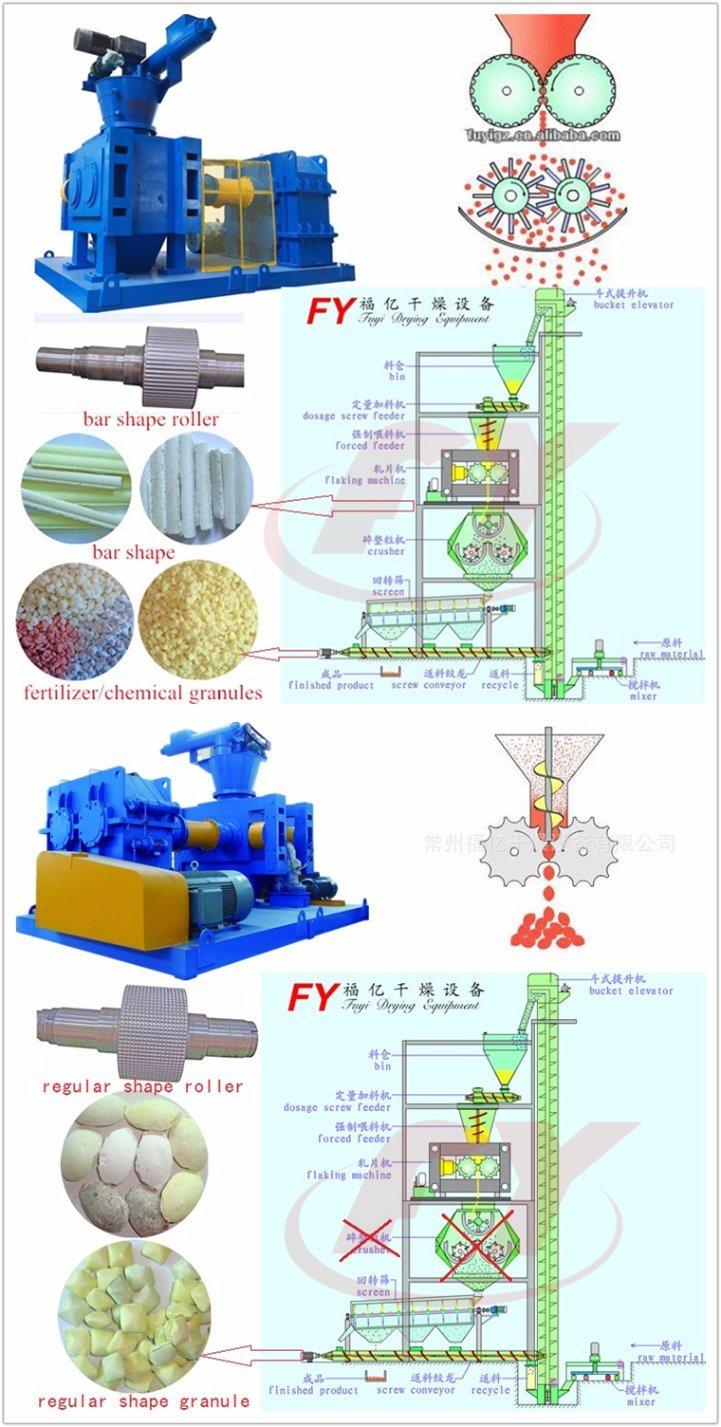 High Efficiency Lower Price Fertilizer or Chemical Granulator Machine