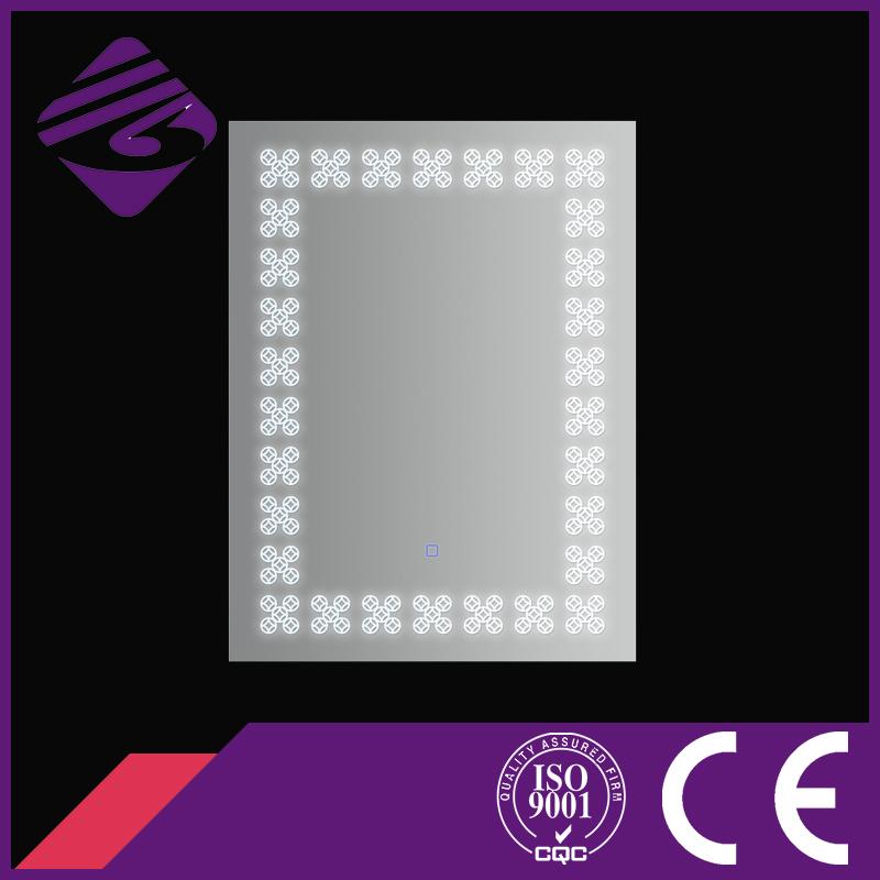Jnhl-144 China Saso Fog Free Shower Waterproof LED Square Mirror