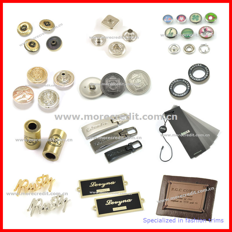 High Quality Shiny Gold Metal Press Stud Button