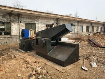 Q43-250 Hydraulic Aluminum Steel Copper Pipe Tube Alligator Shear