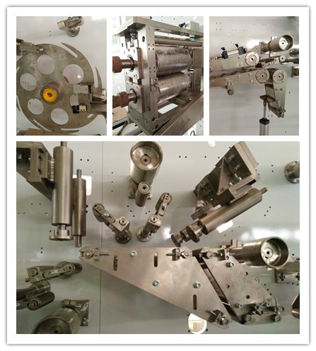 Economic Semi-Automatic Feminine Pad Machine Manufacture (HY400)
