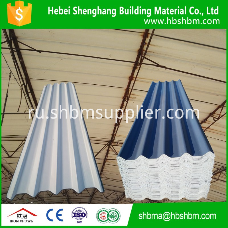 Iron Crown Insulating MgO Roofing Tiles