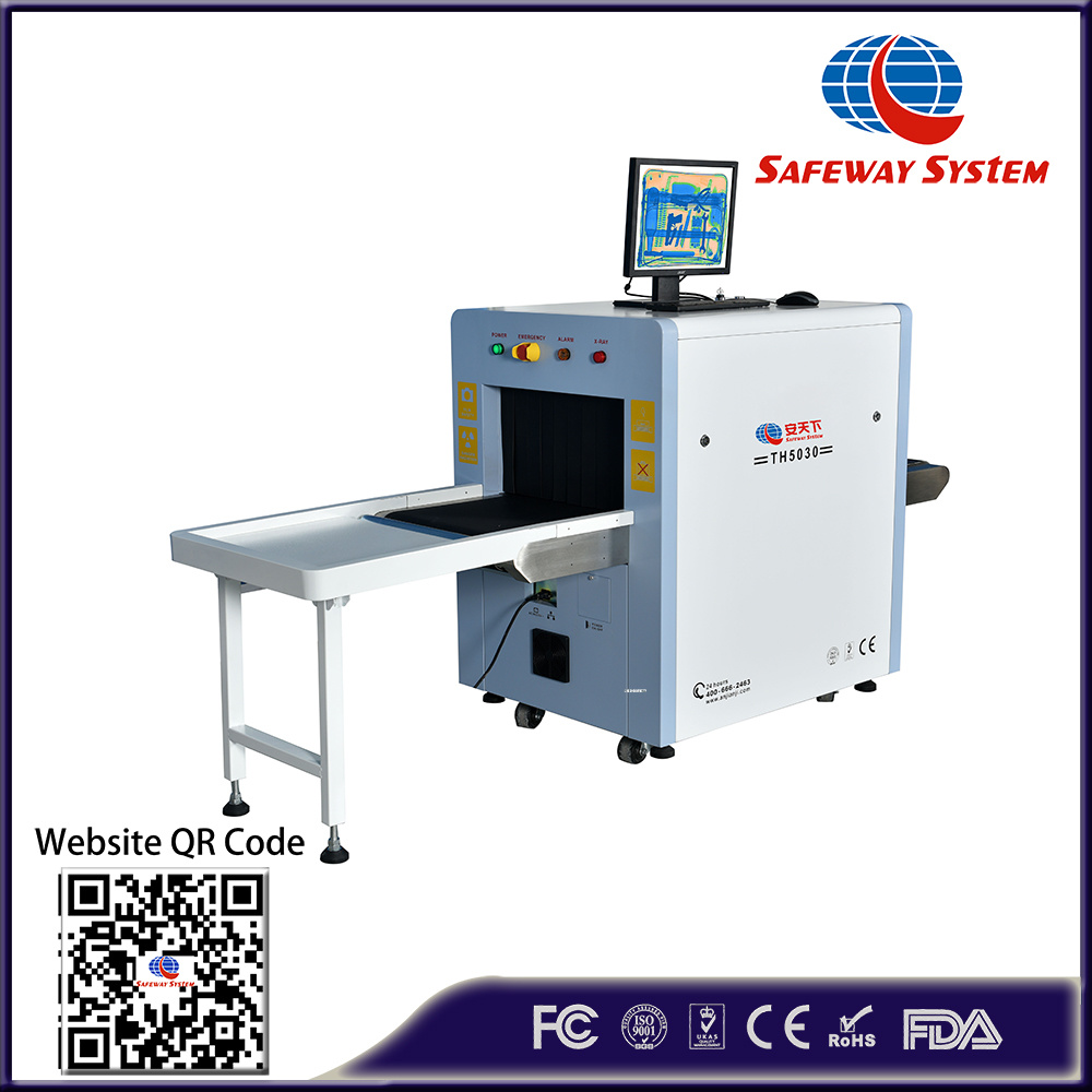 Dual Energy 5030 Machine X Ray Baggage Scanner Security Equipment - Direct Factory