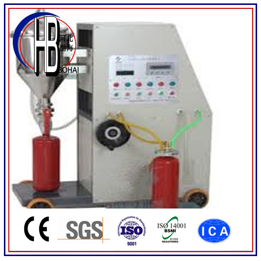 ABC Dry Powder Fire Extinguisher Filling Machine for Extinguisher
