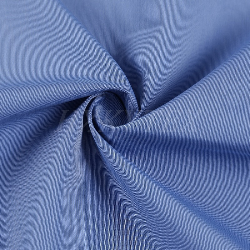 Stripe Polyester Nylon with Cotton Compound Fabric