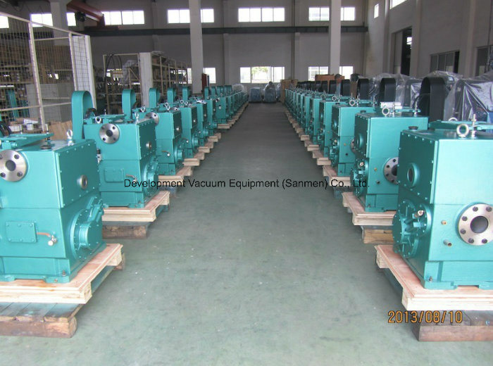 Environmental Painted Double Stage Plunger Vacuum Pump
