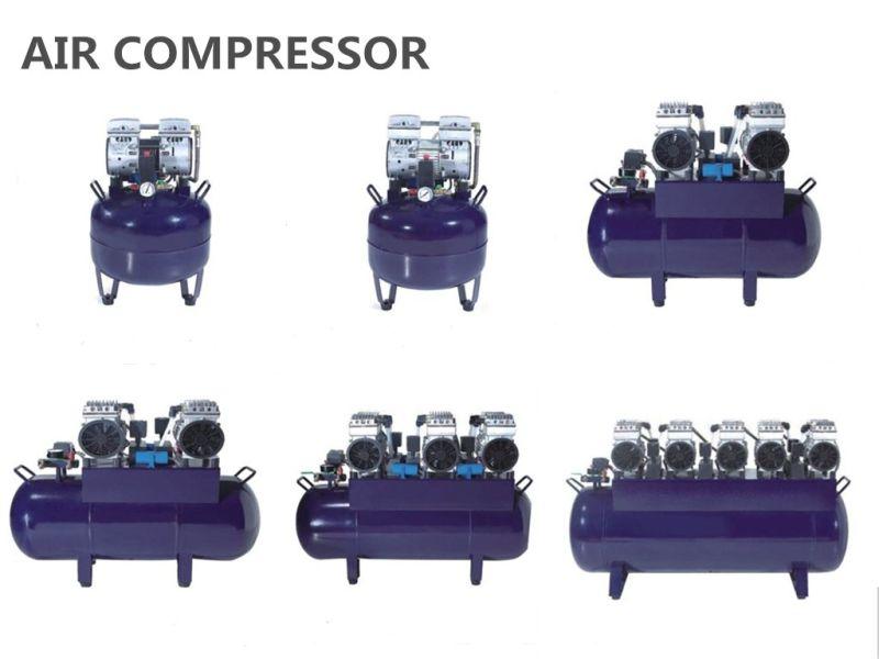 Portable Mute Noiseless Silent Oil Free Medical Dental Air Compressor