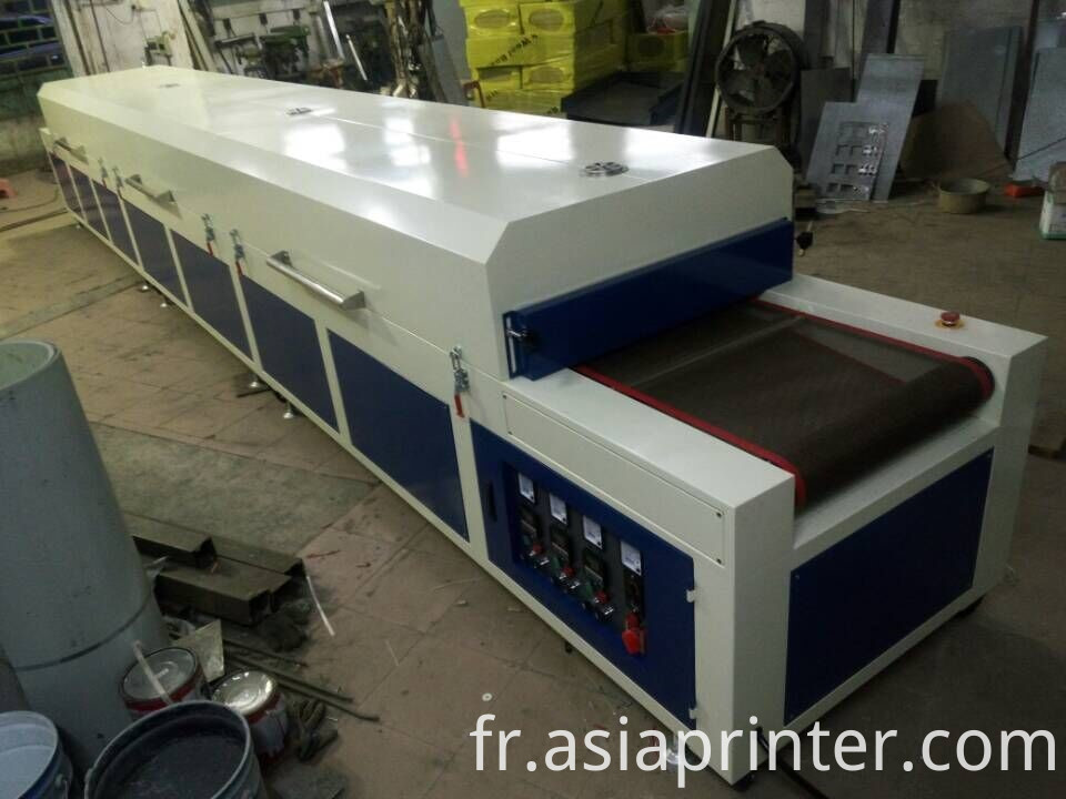 IR Paper Dryer Tunnel Oven with Belt