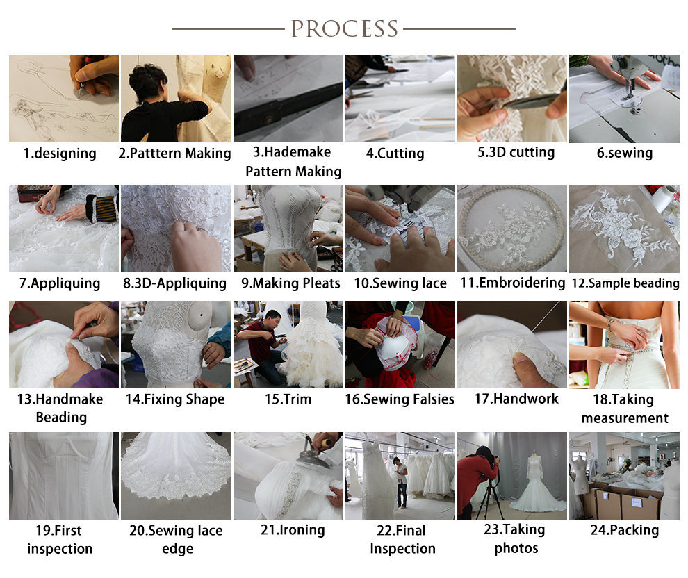 Deep V-Neck Bridal Prom Dress Ivory Satin Cape Wedding Dress