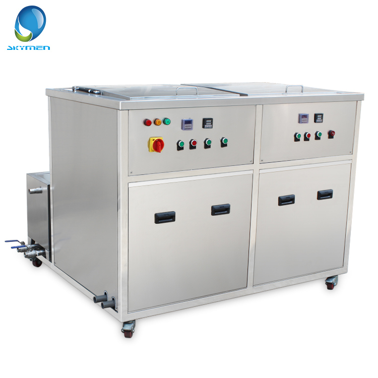 28kHz High Frequency Carburetor Ultrasonic Cleaner with Rinsing and Filter System