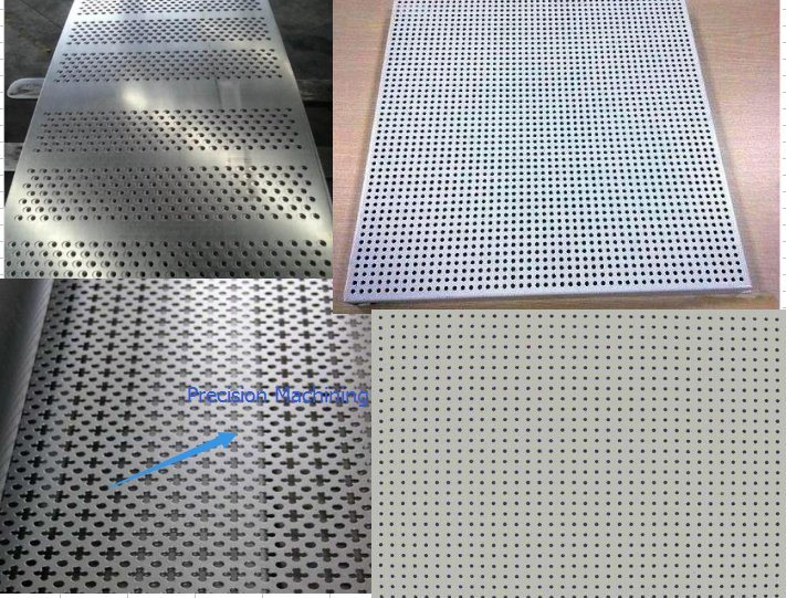 Anodized Aluminium/Aluminum Extrusion/Extruded Strip by Punching