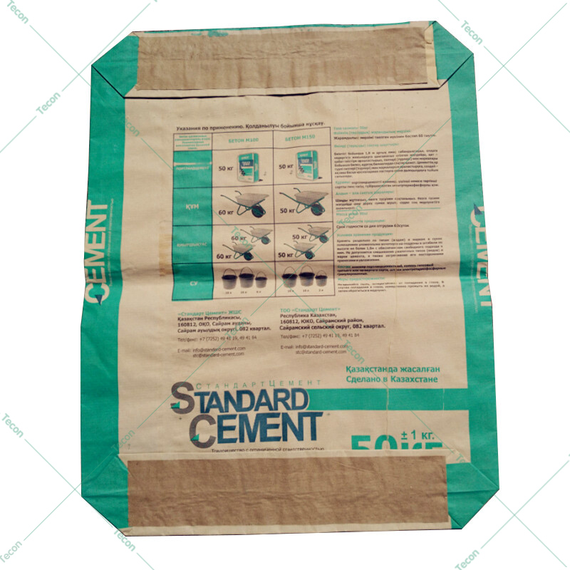 Valve Scrip Pasting Cement Bag Machine