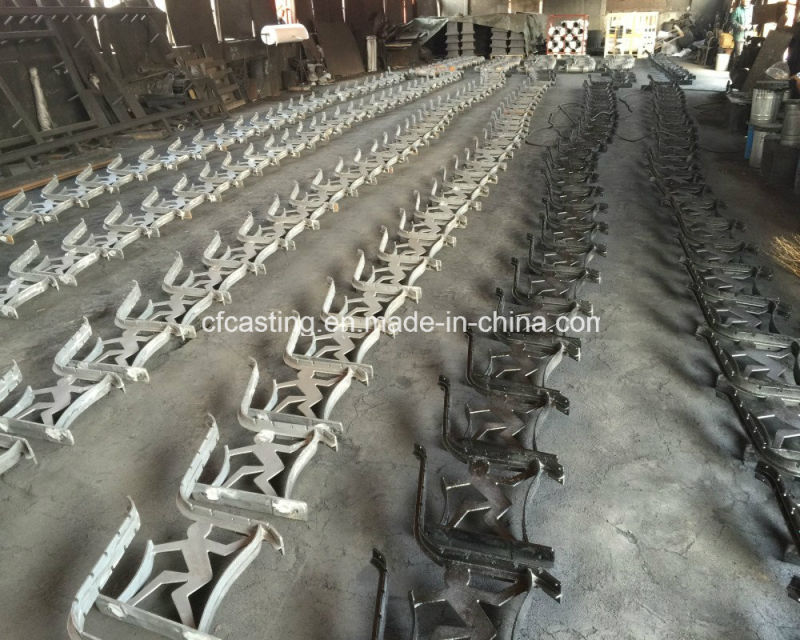 Metal Cast Ductile Iron Graden Bench