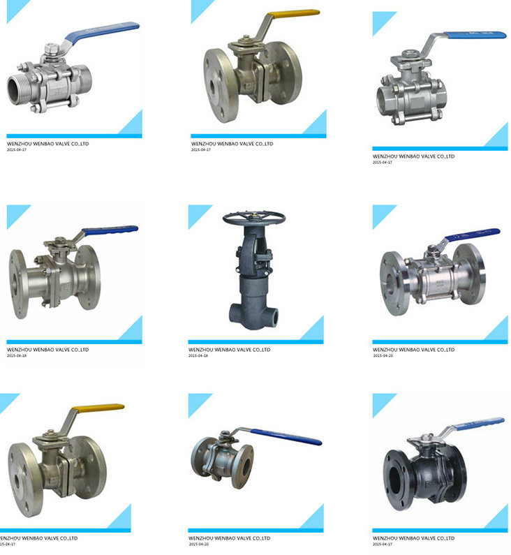 JIS 2PC Carbon Steel Flanged Floating Ball Valve with Platform