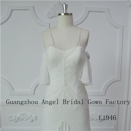 Sexy Strapless Wedding Dress