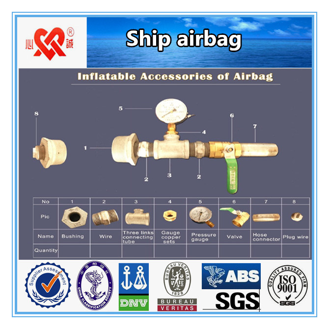Inflatable Rubber Airbag for Ship Launching and Landing