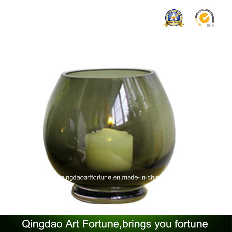 Round Glass Bowl for Candle Holder Manufacturer