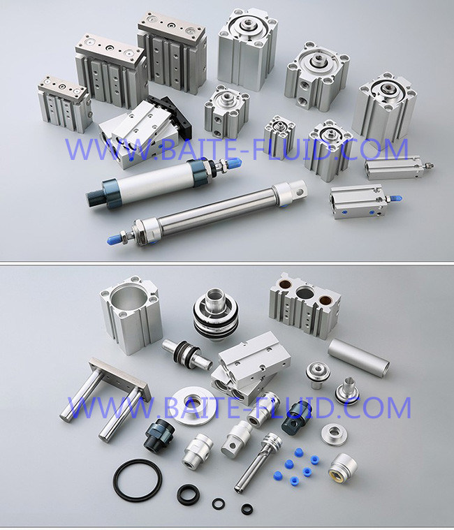 Welding Clamp Cylinder Tie Rod Cylinder Ck1 Series Clamp Piston Pneumatic Cylinder