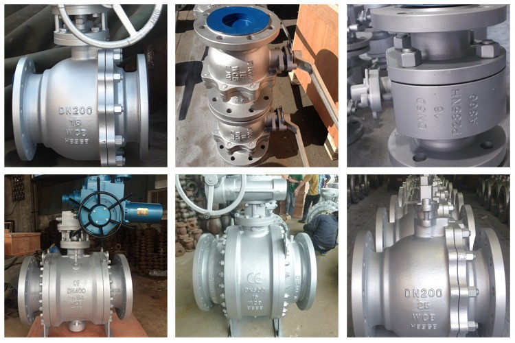 Hot Sale Wcb/Stainless Steel Flanged Electric Ball Valve