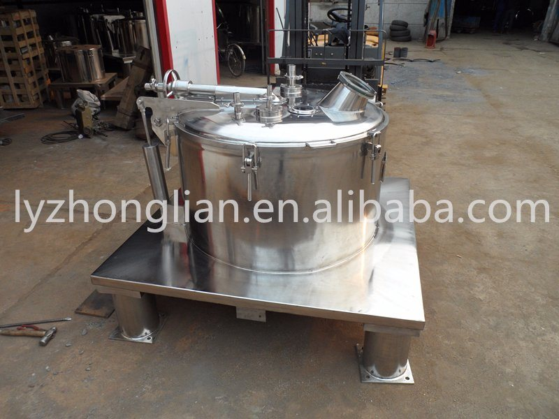 Psc800nc Patented Product High Speed Solid-Liquid Separate Flat Sedimentation Centrifuge